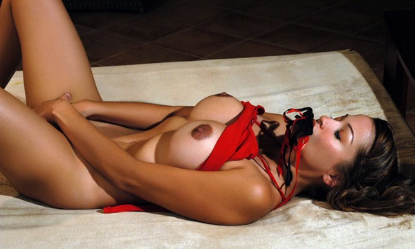 alley-baggett-naughty-in-sexy-red-lingerie
